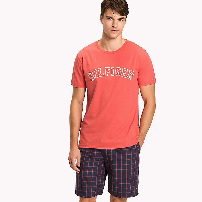 TOMMY HILFIGER Organic Cotton Lounge T-Shirt -  - TOMMY HILFIGER Clothing - main image