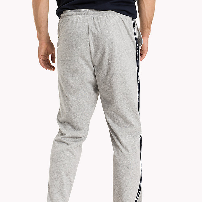 TOMMY HILFIGER PANT - GREY HEATHER - TOMMY HILFIGER Kleding - detail image 1