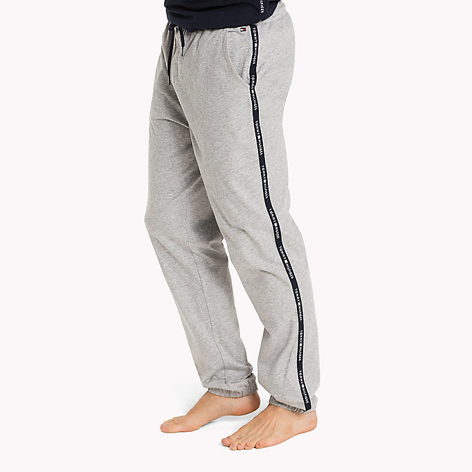 TOMMY HILFIGER PANT - GREY HEATHER - TOMMY HILFIGER Kleding - main image