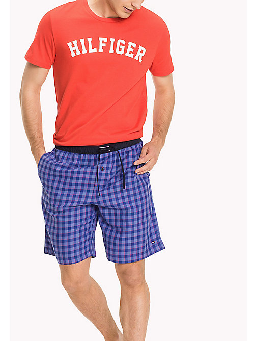 TOMMY HILFIGER WOVEN SHORT - MAZARINE BLUE - TOMMY HILFIGER Pyjama Bottoms - main image