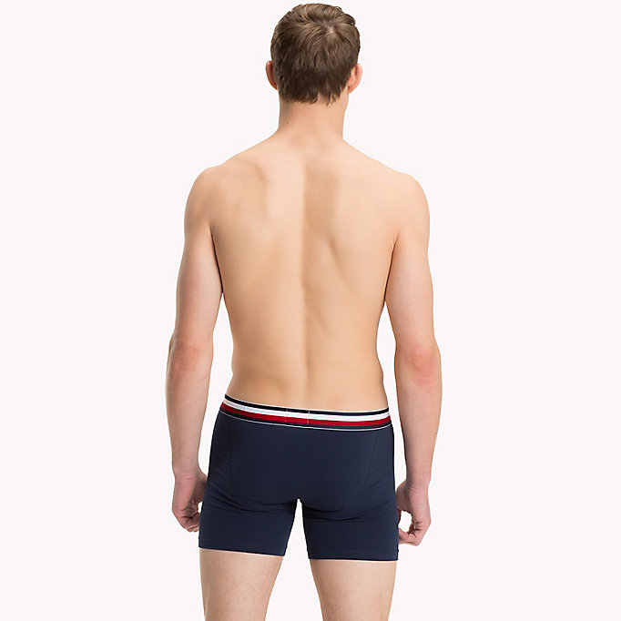 TOMMY HILFIGER Boxer brief met signature-streep - WHITE - TOMMY HILFIGER Heren - detail image 1