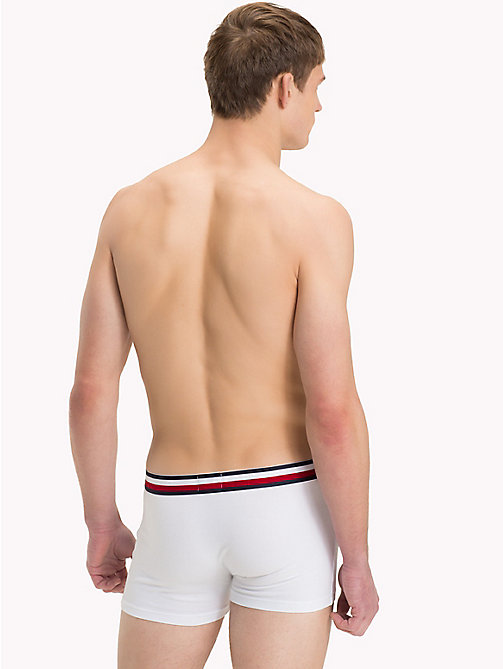 TOMMY HILFIGER Signature Stripe Trunks - WHITE - TOMMY HILFIGER Trunks - detail image 1