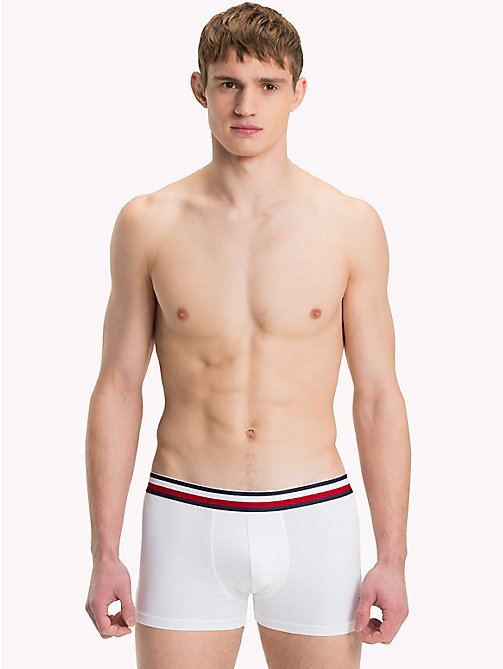 TOMMY HILFIGER Organic Cotton Trunks - WHITE - TOMMY HILFIGER Trunks - main image