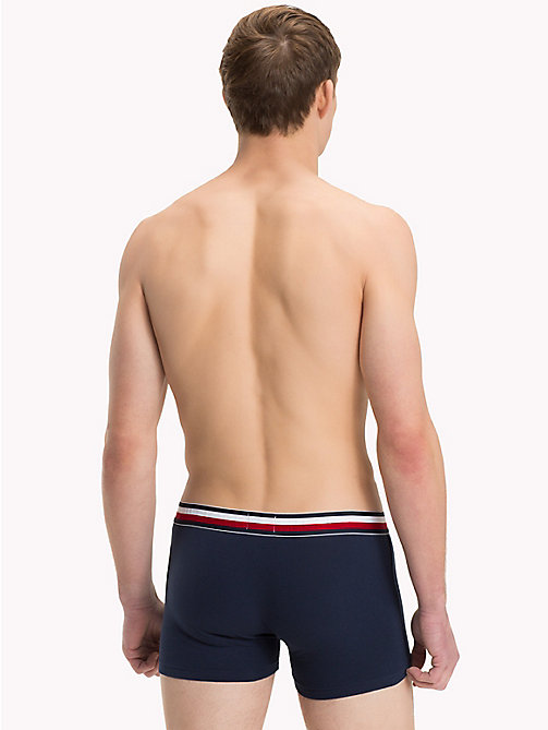 TOMMY HILFIGER Organic Cotton Trunks - NAVY BLAZER - TOMMY HILFIGER Boxers - detail image 1