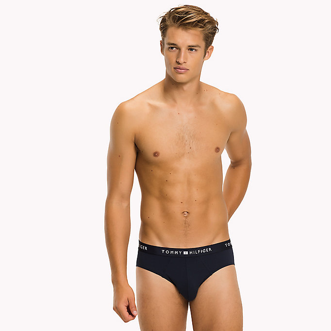 TOMMY HILFIGER BRIEF - BLACK - TOMMY HILFIGER Clothing - main image