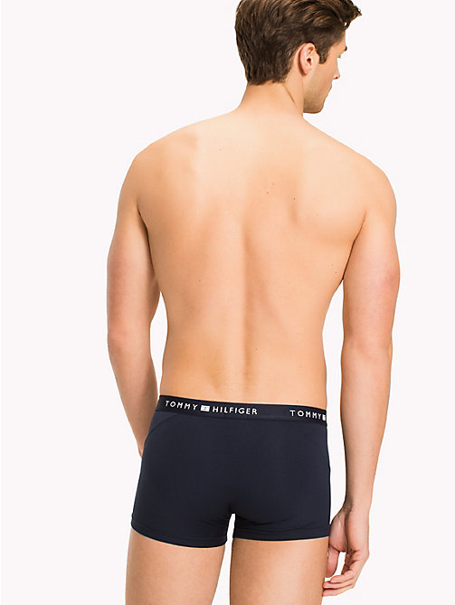 TOMMY HILFIGER Stretch Nylon Trunks - NAVY BLAZER - TOMMY HILFIGER Trunks - detail image 1