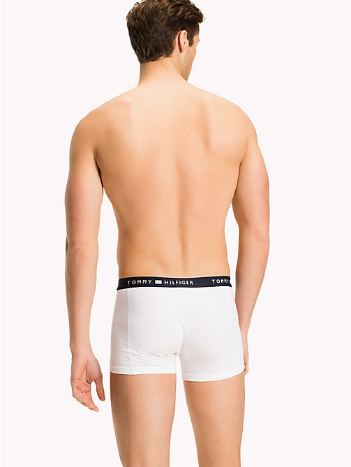 TOMMY HILFIGER Colour-Blocked Trunks - WHITE - TOMMY HILFIGER Trunks - detail image 1