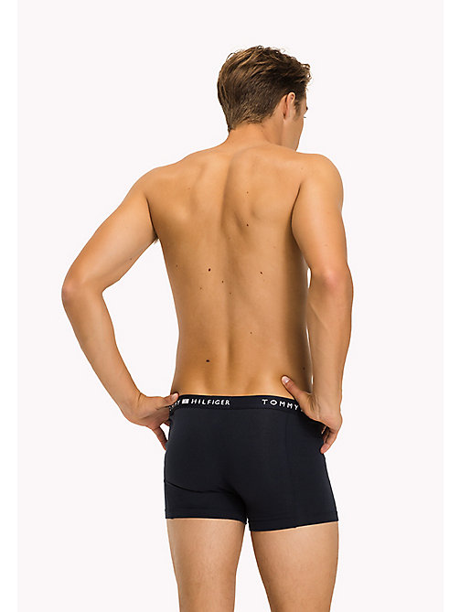 TOMMY HILFIGER Colour-Blocked Trunks - NAVY BLAZER - TOMMY HILFIGER Trunks - detail image 1