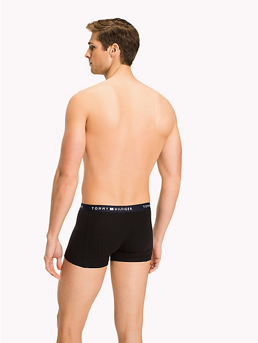 TOMMY HILFIGER Colour-Blocked Trunks - BLACK - TOMMY HILFIGER Trunks - detail image 1