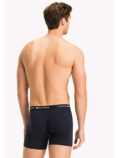 TOMMY HILFIGER Colour-Blocked Boxer Briefs - NAVY BLAZER - TOMMY HILFIGER Underwear - detail image 1