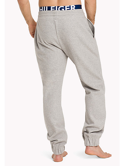 TOMMY HILFIGER CUFFED JERSEY PANT - GREY HEATHER - TOMMY HILFIGER Pyjama Bottoms - detail image 1