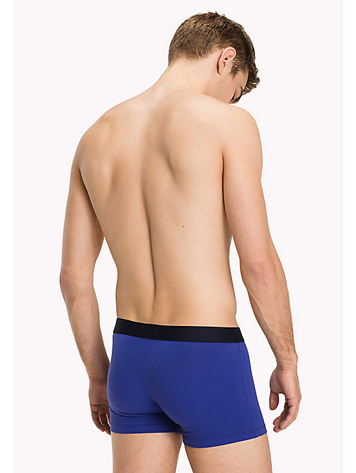 TOMMY HILFIGER Cotton Trunk 2 Pack - CLEMATIS BLUE/SCOOTER - TOMMY HILFIGER Trunks - detail image 1
