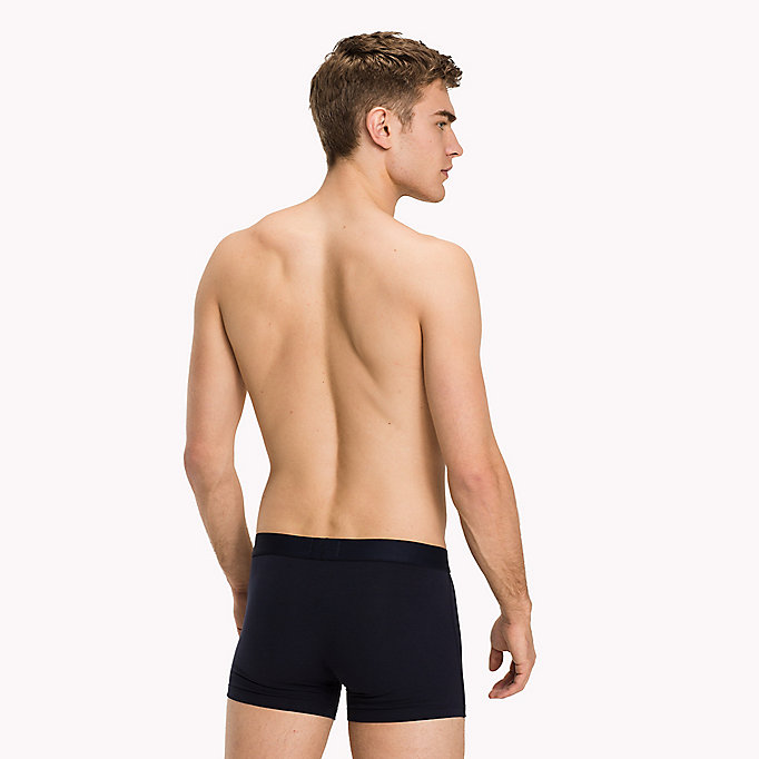 TOMMY HILFIGER Cotton Trunk 2 Pack - LYONS BLUE/SCOOTER - TOMMY HILFIGER Clothing - detail image 1