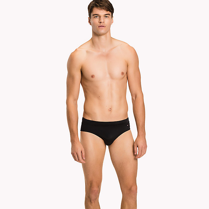 TOMMY HILFIGER Stretch Swim Briefs - TANGO RED - TOMMY HILFIGER Men - main image