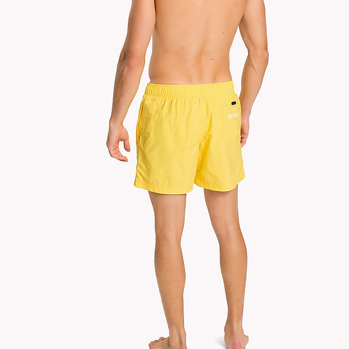 TOMMY HILFIGER Drawstring Swim Shorts - NAVY BLAZER - TOMMY HILFIGER Men - detail image 1