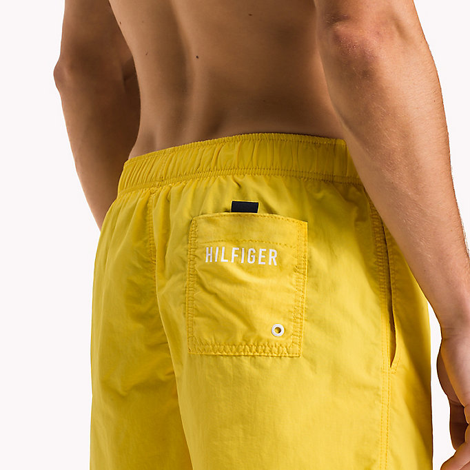 TOMMY HILFIGER Drawstring Swim Shorts - NAVY BLAZER - TOMMY HILFIGER Men - detail image 2