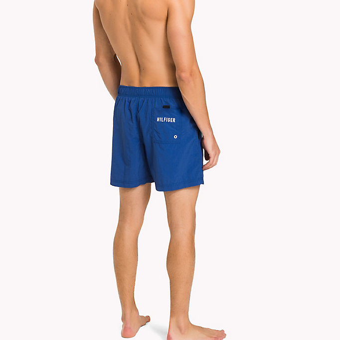 TOMMY HILFIGER Drawstring Swim Shorts - DANDELION - TOMMY HILFIGER Men - detail image 1