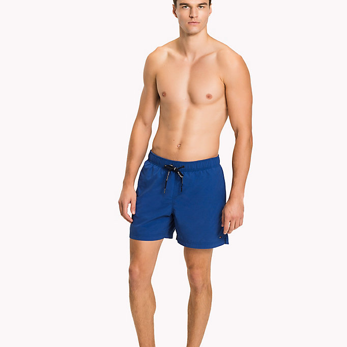 TOMMY HILFIGER Drawstring Swim Shorts - DANDELION - TOMMY HILFIGER Men - main image