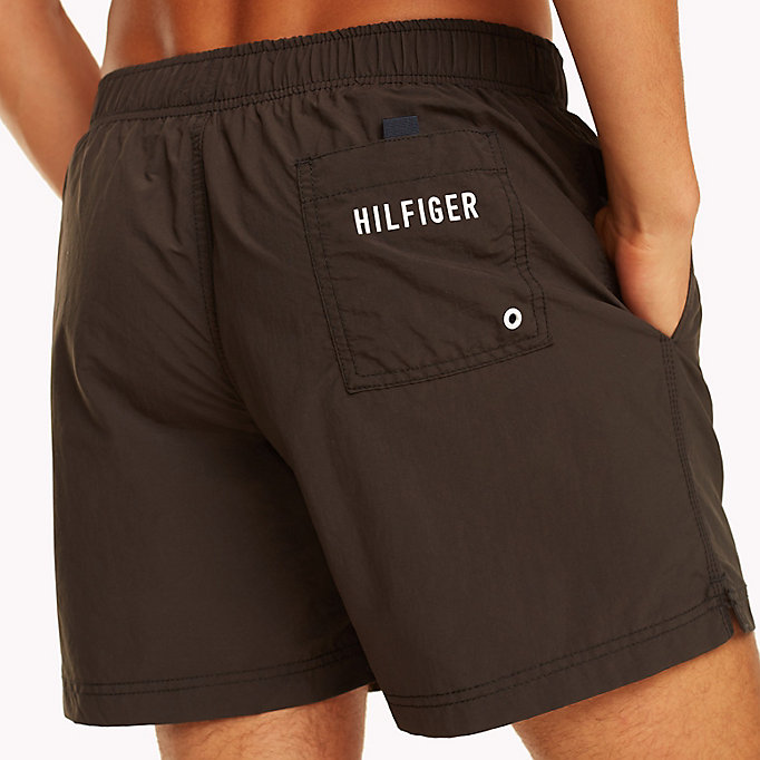TOMMY HILFIGER Drawstring Swim Shorts - TANGO RED - TOMMY HILFIGER Men - detail image 2