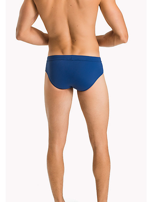 TOMMY HILFIGER Stretch-Badehose in Flag-Design - TRUE BLUE - TOMMY HILFIGER Unterwäsche & Bademode - main image 1