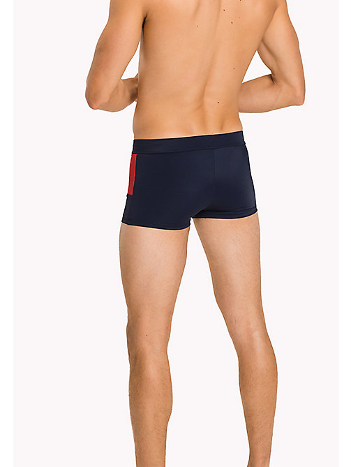 TOMMY HILFIGER Flag Design Swim Trunks - NAVY BLAZER - TOMMY HILFIGER Swim styles - detail image 1