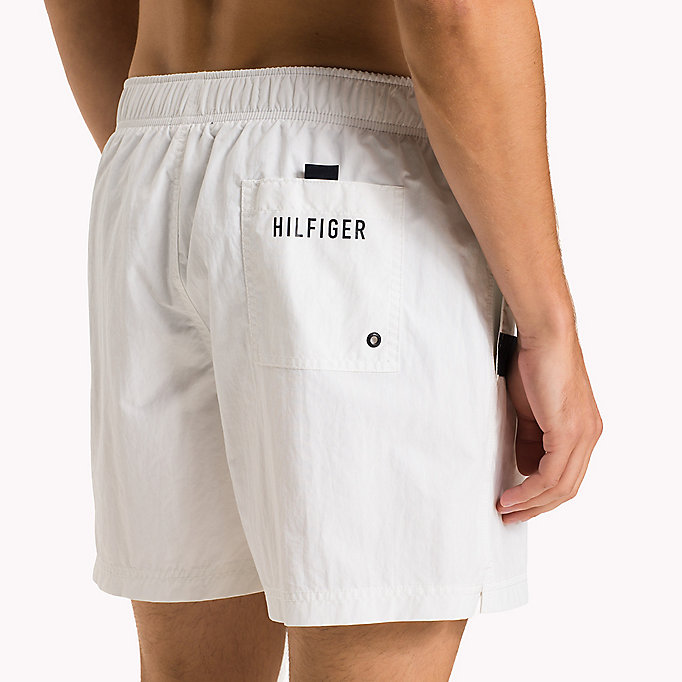 TOMMY HILFIGER Flag Design Swim Shorts - TANGO RED - TOMMY HILFIGER Men - detail image 2