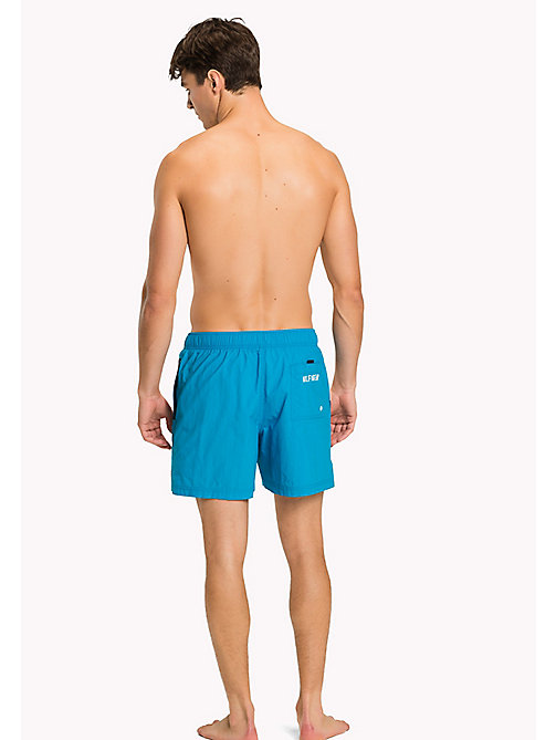 TOMMY HILFIGER Flag Design Swim Shorts - BLUE DANUBE - TOMMY HILFIGER Underwear & Loungewear - detail image 1