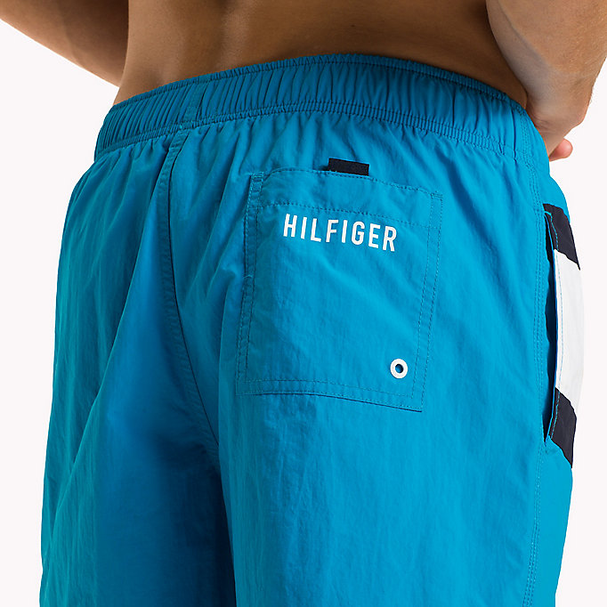 TOMMY HILFIGER Flag Design Swim Shorts - NAVY BLAZER - TOMMY HILFIGER Men - detail image 2