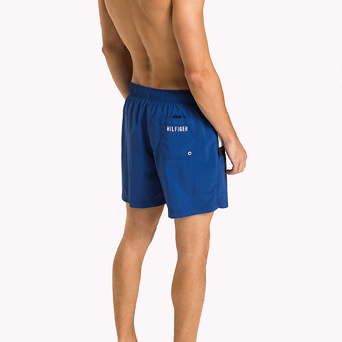 TOMMY HILFIGER Flag Design Swim Shorts - BLUE DANUBE - TOMMY HILFIGER Men - detail image 1