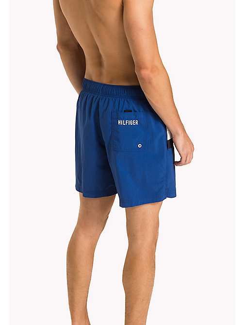 TOMMY HILFIGER Flag Design Swim Shorts - TRUE BLUE - TOMMY HILFIGER Swim styles - detail image 1