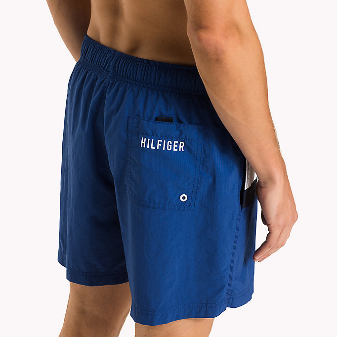 TOMMY HILFIGER Flag Design Swim Shorts - BLUE DANUBE - TOMMY HILFIGER Men - detail image 2