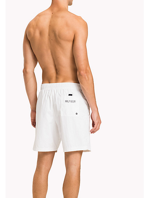 TOMMY HILFIGER Long Leg Swim Shorts - BRIGHT WHITE - TOMMY HILFIGER Swim styles - detail image 1