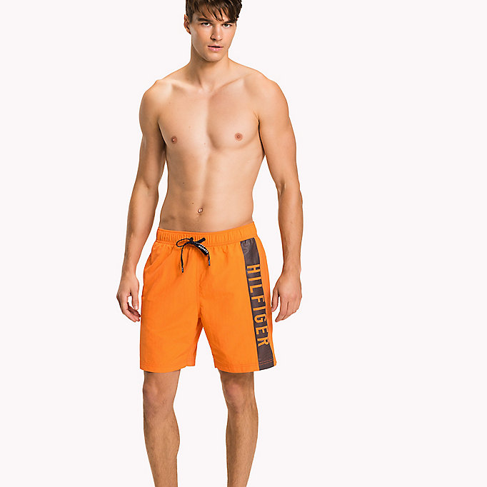 TOMMY HILFIGER Short de bain long - GREEN FLASH - TOMMY HILFIGER Hommes - image principale
