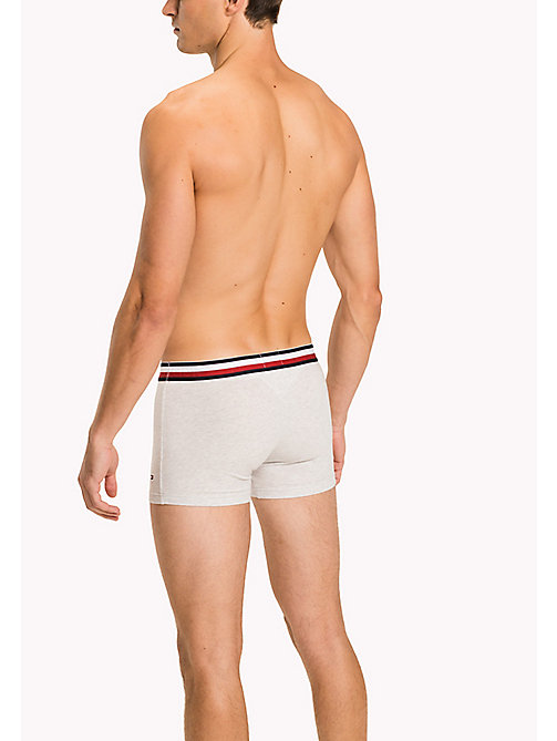 TOMMY HILFIGER Eco Fresh Cotton Trunks - IVORY HEATHER - TOMMY HILFIGER Trunks - detail image 1