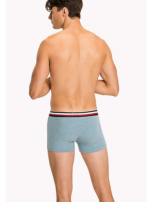 TOMMY HILFIGER Eco Fresh Cotton Trunks - INFINITY HEATHER - TOMMY HILFIGER Trunks - detail image 1