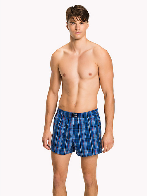 TOMMY HILFIGER Mixed Design Cotton Boxers - MARINA/ CHRYSANTHEMUM - TOMMY HILFIGER Packs - main image