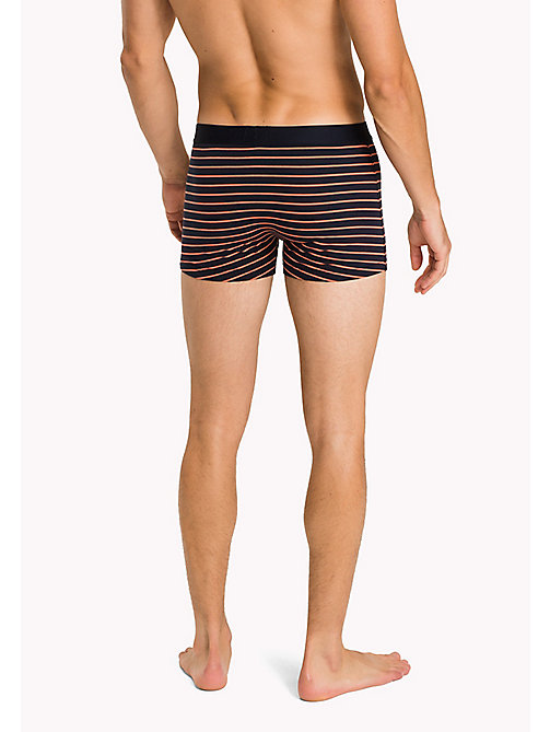 TOMMY HILFIGER 2-Pack Cotton Trunks - DEEP SEA CORAL/NAVY BLAZER - TOMMY HILFIGER Packs - detail image 1