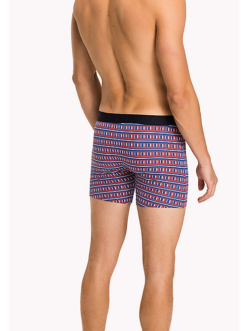 TOMMY HILFIGER 2-Pack Boxer Briefs - BLUE PRINT / CLASSIC BLUE - TOMMY HILFIGER Three Packs - detail image 1