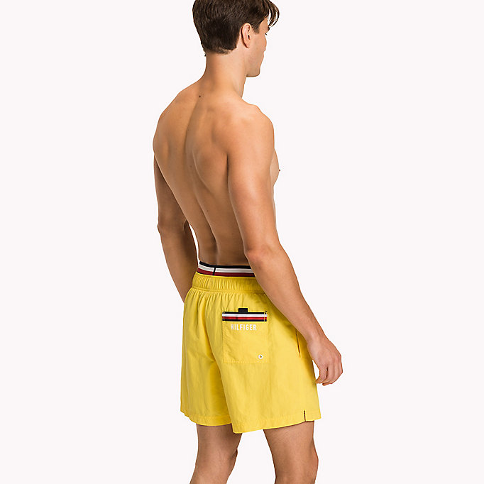 TOMMY HILFIGER Double Waistband Swim Shorts - NAVY BLAZER - TOMMY HILFIGER Men - detail image 1