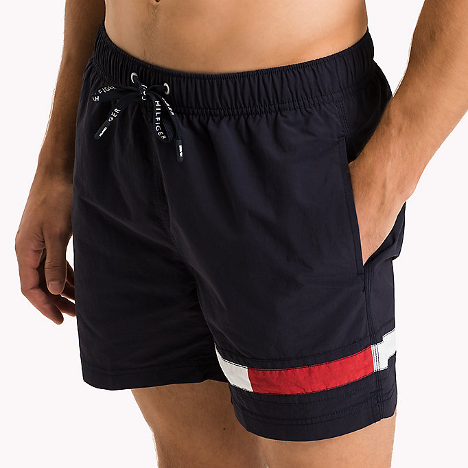 TOMMY HILFIGER Flag Leg Swim Shorts - DEEP MINT - TOMMY HILFIGER Men - detail image 2