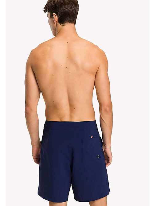 TOMMY HILFIGER Colour-Blocked Board Shorts - BLUE DEPTHS-LAPIS BLUE - TOMMY HILFIGER Swim styles - detail image 1
