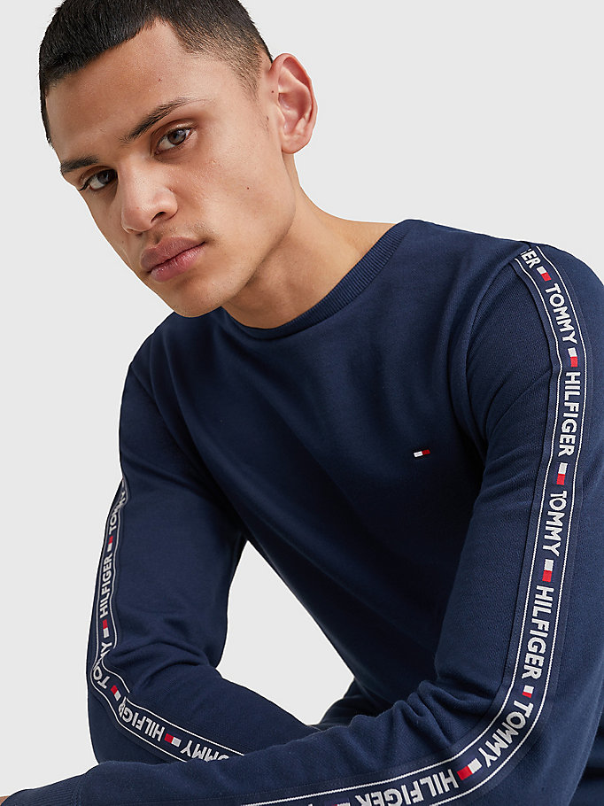 TOMMY HILFIGER TRACK TOP LS HWK - GREY HEATHER - TOMMY HILFIGER Clothing - detail image 2