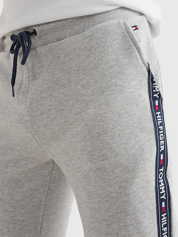 TOMMY HILFIGER Logo Tape Joggers - TANGO RED - TOMMY HILFIGER Men - detail image 2
