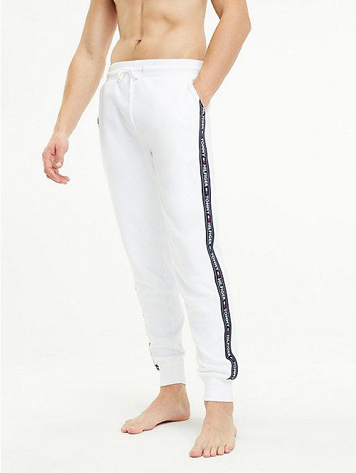 Witte Joggingbroek Heren.Loungewear Nachtkleding Voor Heren Tommy Hilfiger Nl