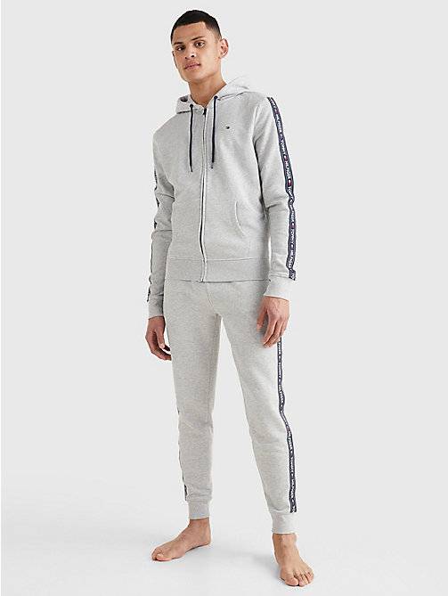 TOMMY HILFIGER Худи на молнии - GREY HEATHER - TOMMY HILFIGER Топы - подробное изображение 1