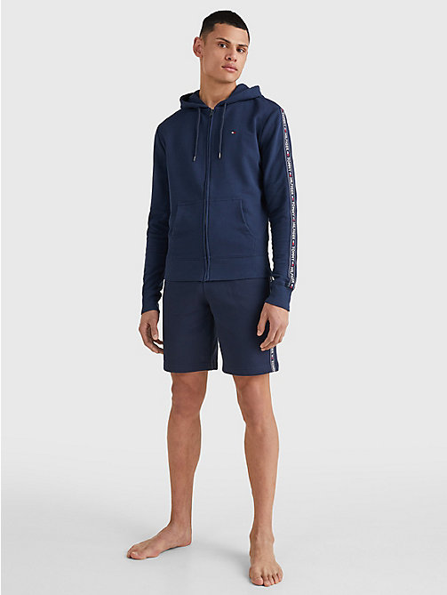 TOMMY HILFIGER Hoodie met ritssluiting - NAVY BLAZER - TOMMY HILFIGER Pyamatops - detail image 1