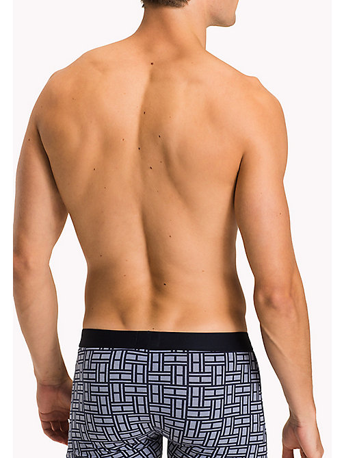 TOMMY HILFIGER 3-Pack Cotton Trunks - INFINITY/DEEP SEA CORAL/NAVY BLAZER - TOMMY HILFIGER Packs - detail image 1