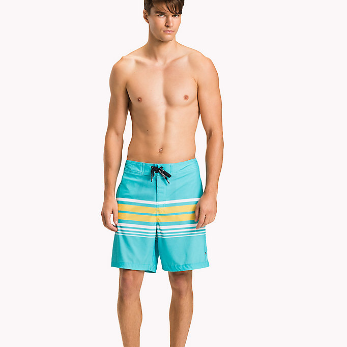 TOMMY HILFIGER Stripe Boardshorts - CORE STRIPE NAVY BLAZER - TOMMY HILFIGER Men - main image