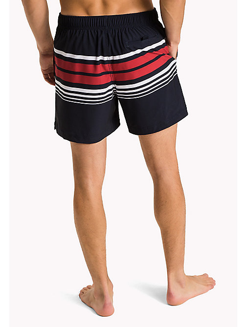 TOMMY HILFIGER Stripe Swim Shorts - CORESTRIPE NAVY BLZ - TOMMY HILFIGER Swimwear - detail image 1