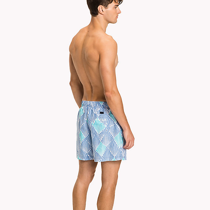 TOMMY HILFIGER Shell Swim Shorts - SHELL PRINT NAVY BLAZER - TOMMY HILFIGER Men - detail image 1
